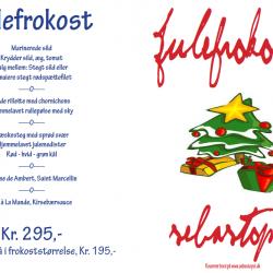 SEBASTOPOL - JULEFROKOST